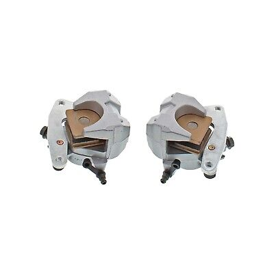 Front Left Right Brake Caliper Pad Set Pair for Yamaha Bruin 350 2004-2006