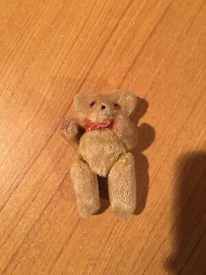 Antique Jointed Teddy Bear Sewing Tape Measure