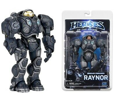 "Neca Heroes of the Storm Series 3 Renegade Commander Raynor 7"" Action Figure"