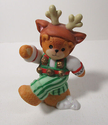 Lucy and Me ~ DANCER Reindeer ~ Teddy Bear Lucy Rigg Figurine