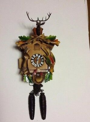 Vintage Cuckoo Clock Hunters Special Germany For Parts Only  Restoration