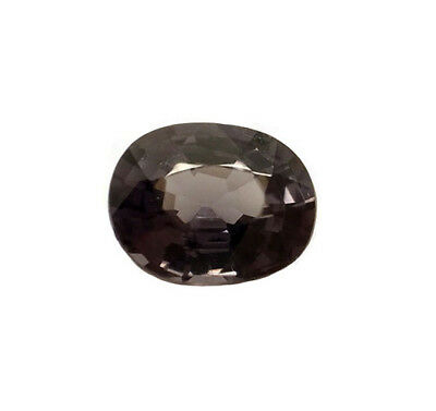 1.01 ct. Silver gray NATURAL unheated THAI SPINEL cushion - NEW!