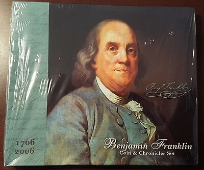 2006 Benjamin Franklin coin and chronicles set, sealed!