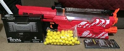 Nerf Rival Nemesis MXVII-10k Red W/ Rival Rechargeable Battery Pack