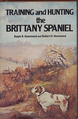 Vintage Brittany Book  Training And Hunting The Brittany Spaniel