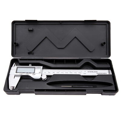 Stainless Steel Electronic Digital Vernier Caliper Micrometer Guage LCD
