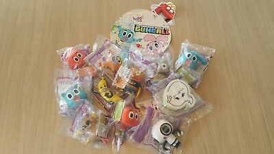 Gumball McDonalds Happy Meal Toys - Full Set of 12 - Charity Auction - RMHC