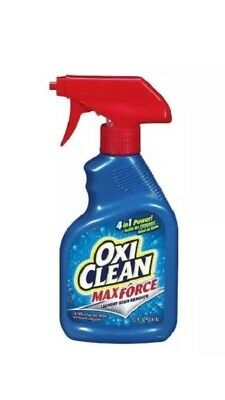 Oxi Clean Max Force Laundry Stain Remover 12 oz Spray Bottle