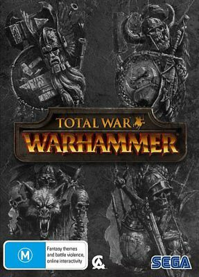 Total War Warhammer Limited Edition PC Game NEW