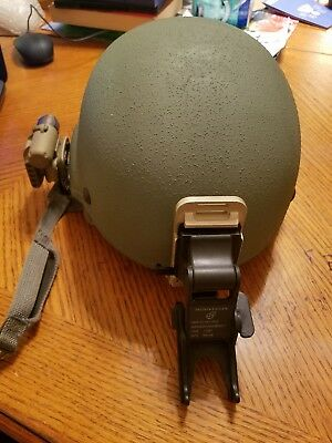 Us Army Ach Mich Helmet Size Small  Gentex  Excellent Condition Extras