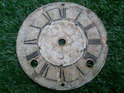 Ansonia Clock Dial  Vintage Distressed Spares Repair Shabby Chic Decor Steampunk