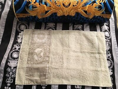 VERSACE LION MEDUSA TOWEL Baroque heritage made in ITALY HOLIDAY SALE 1 left