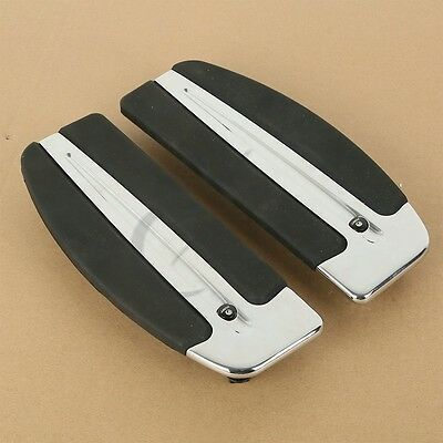 Rider Insert Front Driving Footboard Floorboard For Harley Softail Touring Model
