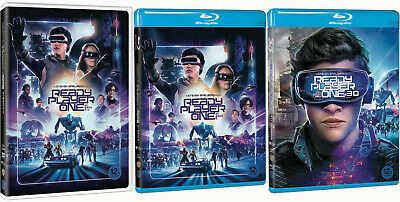 Ready Player One (2018) DVD, Blu-ray, 3D Combo