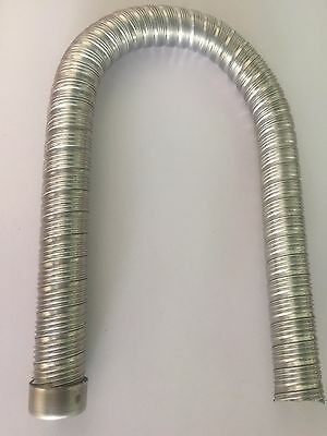 Stainless Steel flexible exhaust with cap 22mm  for Eberspacher/Webasto Heater