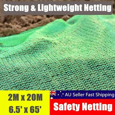 20m x 2m Green Garden Plant Fine Mesh Bird Protective Netting Weed Pest Control