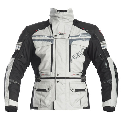 NEW RST RST PRO SERIES ADVENTURE 2 JACKET BLACK SILVER Dualsport Offroad Adv
