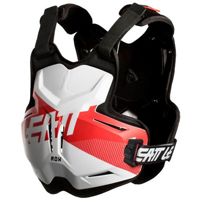 NEW LEATT Adult Body Armour Chest Protector 2.5 PRO ROX WHITE RED MX SX Racing