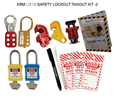 Krm Loto - Safety Lockout Tagout Kit 2
