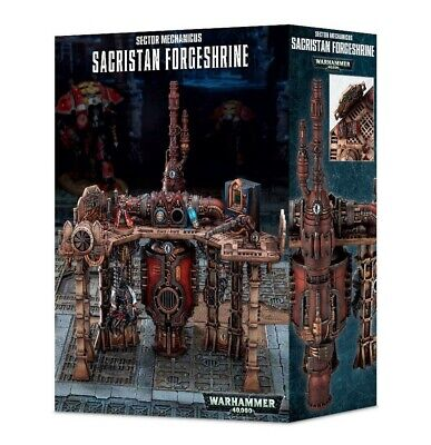 Sector Mechanicus: Sacristan Forgeshrine Games Workshop Brand New 99120199066