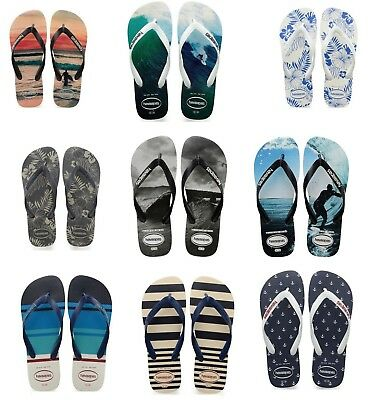 Havaianas Brasil Photoprint Hype Top Nautical Flip Flop Infradito Ciabatte Mare