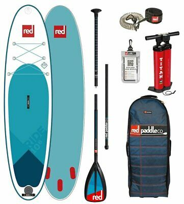 Red Paddle Co 10.6' RIDE MSL Set Package Stand Up Paddle Sup Board GlasNylon