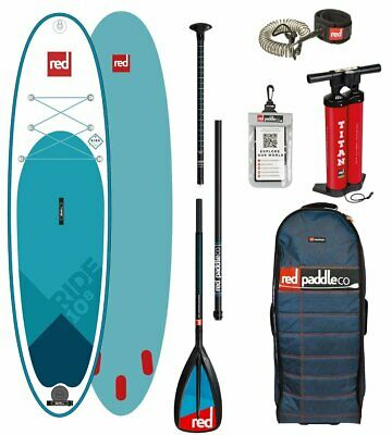 Red Paddle Co 2018 10.8' RIDE MSL Set Package Stand Up Paddle Sup GlasNylon