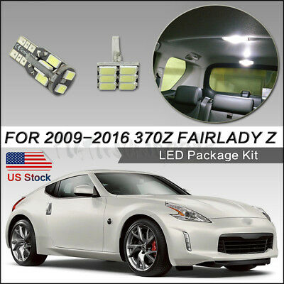 LED Parking Lights For 2013-19 Nissan 370Z LED Daylight Night Time Enable Kit