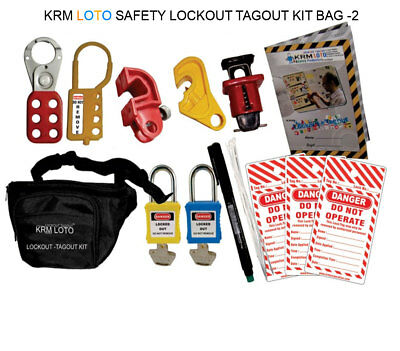 Krm Loto - Safety Lockout Tagout Kit Bag 2