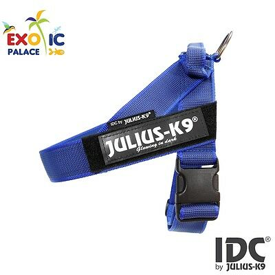 Julius-K9 Idc Belt Harness New Blue Gray Pettorina Per Cane In Nylon Resistente