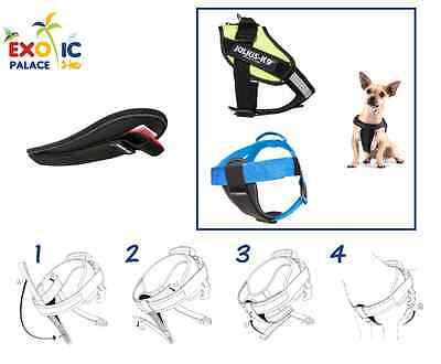 Julius-K9 Chestpad Pettorale Per Pettorina Cane Idc Powerharness Belt In Okotex