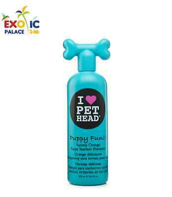 PET HEAD PUPPY FUN SHAMPOO IPOALLERGENICO PER CUCCIOLI DI CANE CURA PELO 475ml
