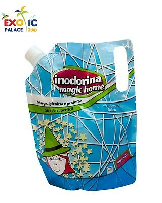 Inodorina Magic Home Detergente Igienizzante Anti Odore Igiene Pulizia Detersivo