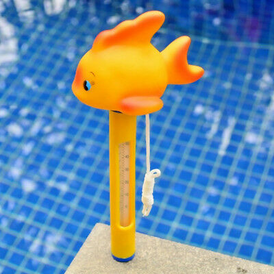MagiDeal Floating Pool Thermometer w/ String For Pool, Hot Tub, Spa Fish #2