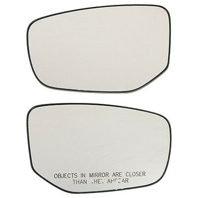 For 13-16 DODGE DART Left Driver Side Drop Fit Flat Mirror Glass Replacement