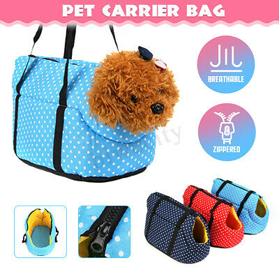 Breathable Padded Pet Travel Carrier Hand Shoulder Bag for Dog Puppy Cat Kitten