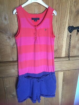 Tommy Hilfiger Girls All In One Shorts Set Age 6