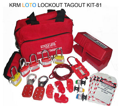 Krm Loto - Lockout Tagout Kit 81