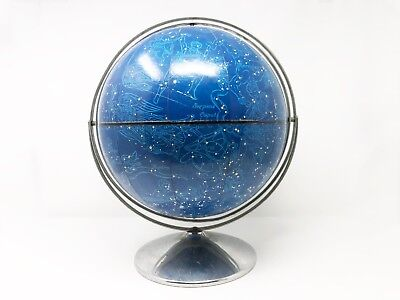 Mid Century Space Age Celestial Globe - Rand McNally - Space Age Constellations