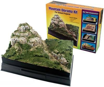 NEW Woodland Mountain Diorama Kit Train Scenery N/HO SP4111