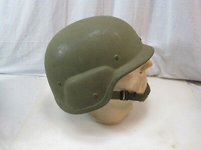 US Military UNICOR PASGT Made With KEVLAR HELMET - Size LARGE B8809