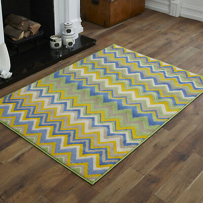 Blue Green Multi Coloured Small Large Quality Clearance Rugs Sale Offer By Alpha