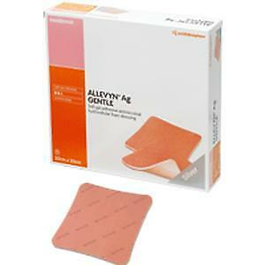 Allevyn Ag Gentle Soft Gel Adhesive Wound Dressing ''20 Count, 8 x 8 Inch'' NEW!