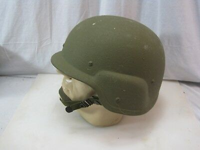 US Military STEMACO PASGT Made With KEVLAR HELMET - Size LARGE B8811