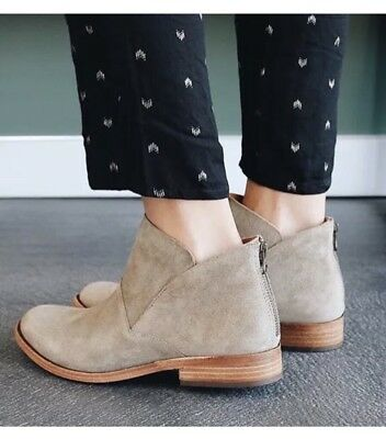 0ea8ab521fa KORK-EASE RYDER ANKLE Taupe Suede Bootie Size 8 M