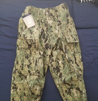 NEW NWU Type III Navy Seal AOR2 COMBAT PANTS Trousers MEDIUM REGULAR