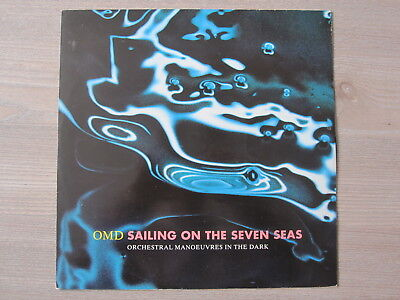 O M D Orchestral Manoeuvres in the Dark sailing on the seven seas Vinyl Maxi LP