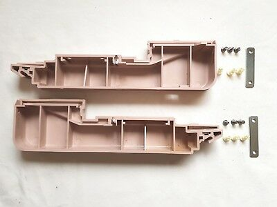 Rare Brother Knitting Machine Kh260 Kh-260 Needle Bed Side End Panels + Screws