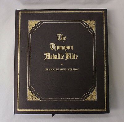 1970 Franklin Mint Version of The Thomason Medallic Bible