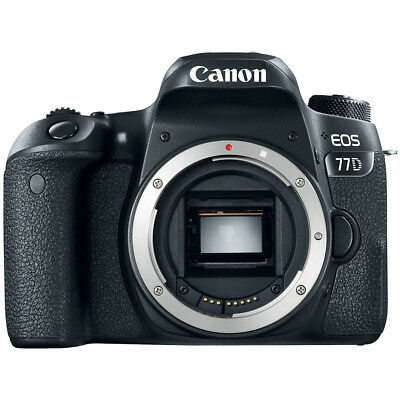 Canon EOS 77D 24.2 MP CMOS (APS-C) DSLR Camera with Wi-Fi & Bluetooth (Body)